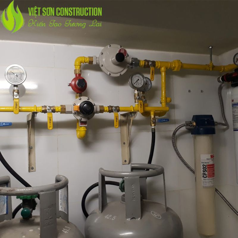 Hệ thống gas nhà hàng khách sạn