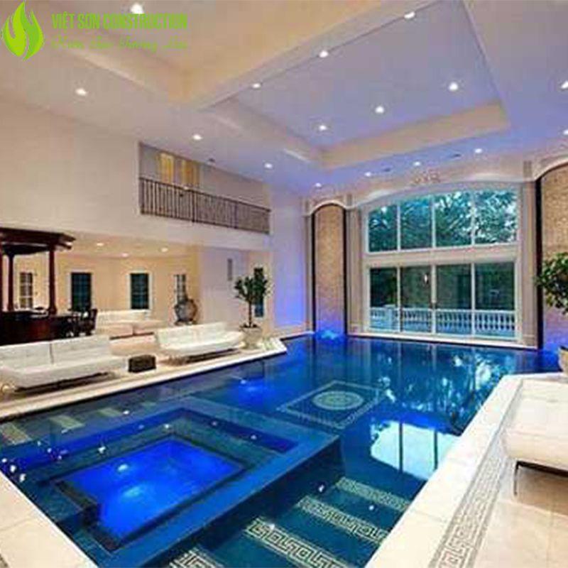Mẫu hồ bơi phòng khách