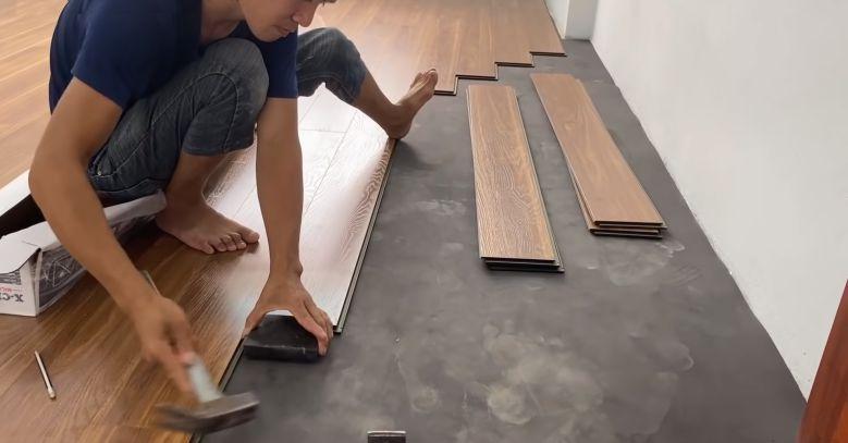 Sửa sàn nhà đón tết